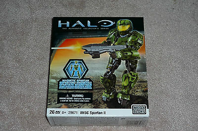 Mega Bloks #29671 Halo Magnetic USNC Spartan II Unused 26pcs