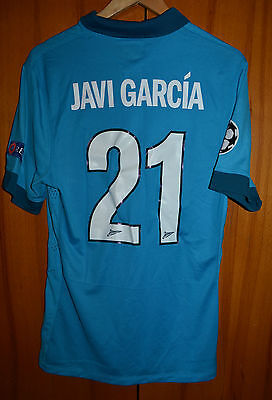 Zenit St Petersburg Russia Match Worn Football Shirt Jersey #21 Javi Garcia Real