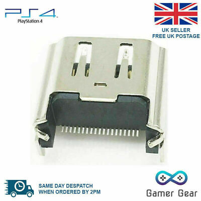 Sony Playstation 4 PS4 Console HDMI Port Socket Jack Connector v2 Design