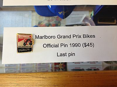 MARLBORO 500CC GRAND PRIX PIN from the 1990's
