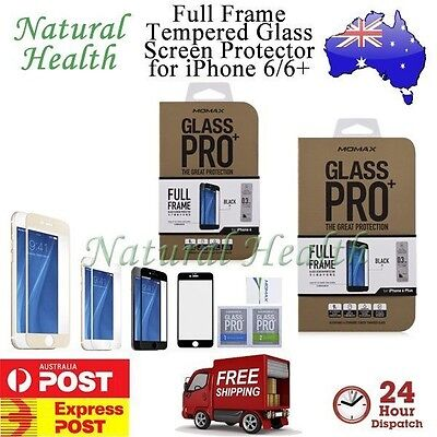 Momax Tempered Glass Screen Protector 9H Full Frame for iPhone 6 6 Plus 4.7 5.5
