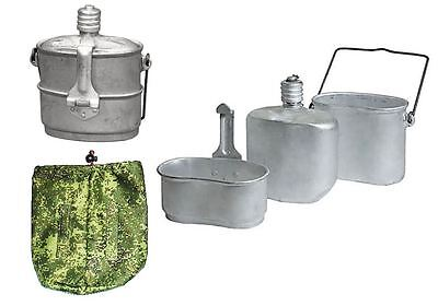 Soviet Russian Army Combined Set VDV Lunch Box Food Cup Kettle with Pouch