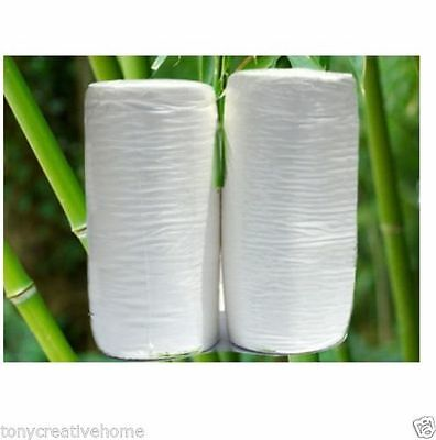 Bamboo Flushable Liners Nappy Insert Cloth baby Pea pads 200 Pk Organic Liners