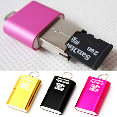 Mini Kartenleser USB Stick Micro SD TF T-Flash Card Reader Speicherkarte Adapter