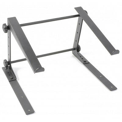 *NEW* Portable Adjustable Metal DJ Laptop Stand Notebook Platform Table Holder
