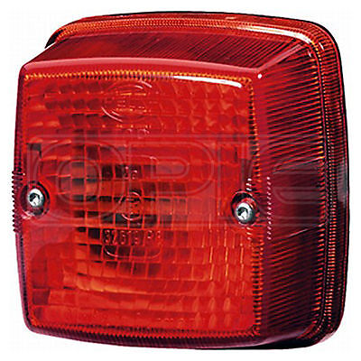 Lens, tail light: Lens Red | HELLA 9EL 110 540-001