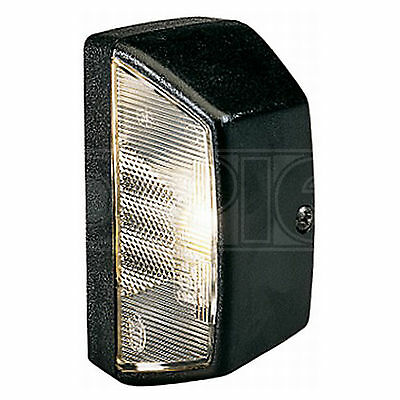 Housing, Number Plate Light: Number Plate LEN | HELLA 9BG 121 587-031