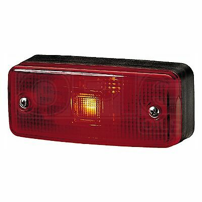 Marker Lamp: Red End Outline with Red Lens | HELLA 2XS 963 959-031