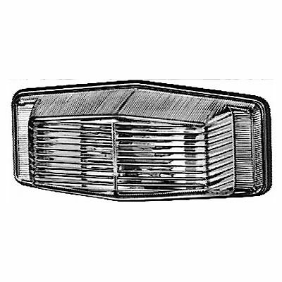 Position Light: Side Lamp with Clear Lens   HELLA 2PF 001 321-011