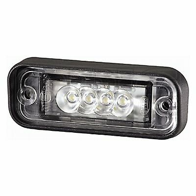 Number Plate Light: Number Plate Lamp LED Flush Mount | HELLA 2KA 010 278-011