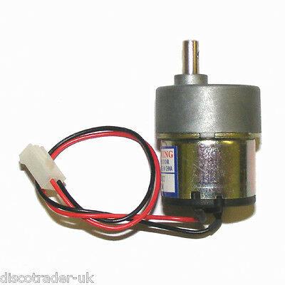 DC MOTOR 12 VOLT DC 80 RPM FOR DISCO LIGHT EFFECT or MODELLING PROJECT