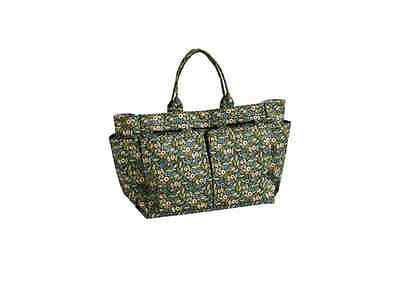 Felicity Pretty Cotton/Plastic Gardening Tool Bag Multi-Colour Floral Pattern