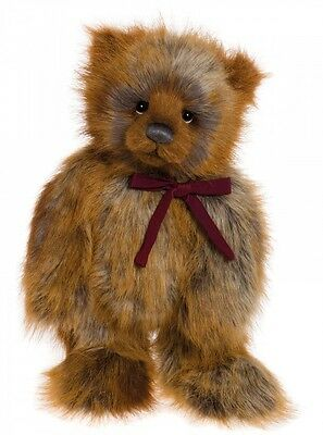 Charlie Bear 2016 Collection - Ginger Bread Ted