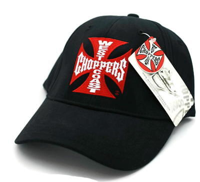 Hat - WEST COAST CHOPPERS Jesse James FITTED Embroidered Ball Cap FREE SHIPPING