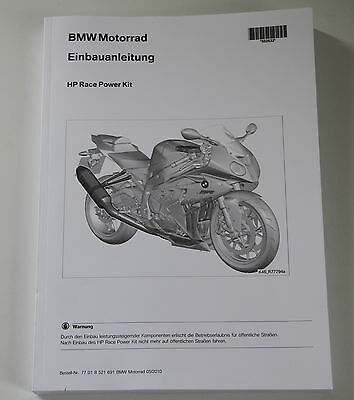 BMW HP Race Power Kit Einbauanleitung installation guide
