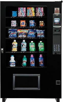 Laundry Detergent Dispensing Glass Front Vending Machine 4 Wide Brand New