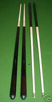 4 queues billard anglais erable 120 à 145cm / 11mm