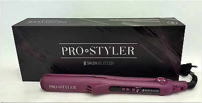 Salerm Salon Selection Ironing Pro Styler With Button Of Vibration