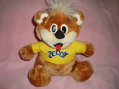 Zellers Reversible ZEDDY Teddy BEAR transforms into a Present 9""