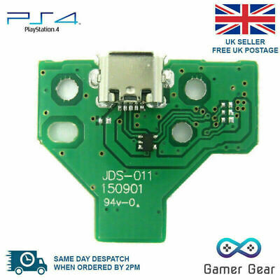 PS4 Controller USB charging port socket circuit board JDS-011 V2 12 pin