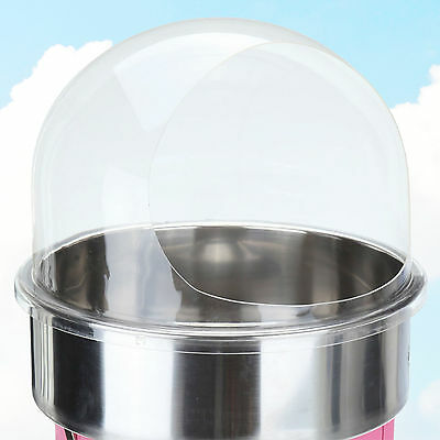 Candy Floss Machine Cover Dome Opening Cotton Candy Maker Clear Bubble 20 I
