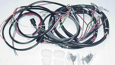 new 1973 1977 harley flh complete wiring harness • 129 99 picclick new 1980 xl xls sportster harley davidson complete wiring harness