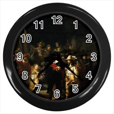 Rembrandt The Night Watchman Wall Clock