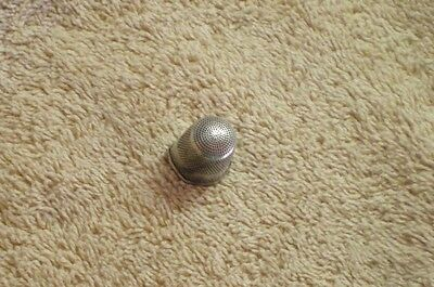 Sterling  Silver Thimble, Damaged, Vintage