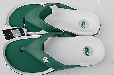 343773bd373bf9 NEW YORK JETS SLIP SANDALS FLIP FLOPS HAWAIIAN JELLY ALL SIZES up to 11 for  men