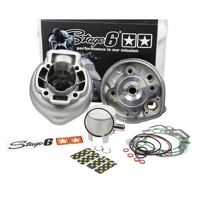 CYLINDER KIT - STAGE6 RACING 70CC, PIAGGIO, LC (0:10 to 0:50), Pin 12mm