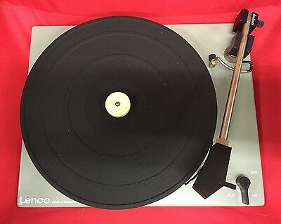 Rare Used Swissmade Lenco B52 Turntable Chassis With Tonearm & Pick-Up