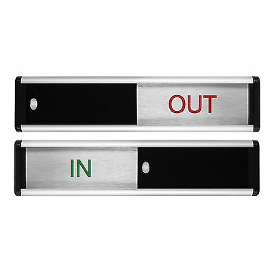 Viro In/Out Sliding Door Sign | Made in the UK