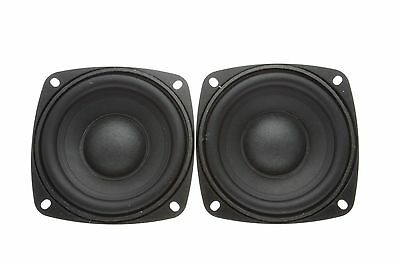 "2 x 3.5"" Passive Bass Radiator Diaphragm"