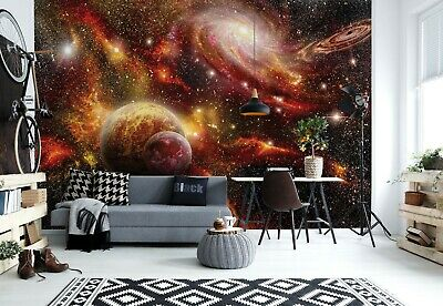 Planets - Space Cosmos Wallpaper Wall Mural 3.68m x 2.54m New (FREE P+P) walls
