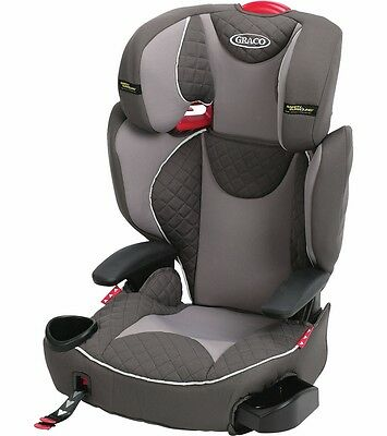 Graco AFFIX Highback Booster Seat with Safety Surround and Latch System - Raze