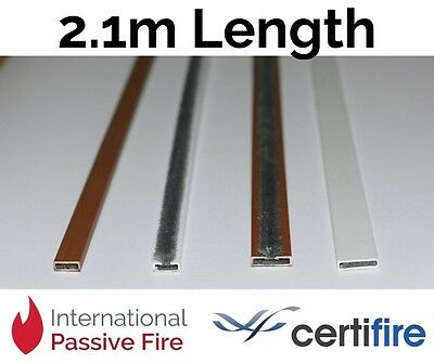 Intumescent Door Strip Seals 2.1m Lengths