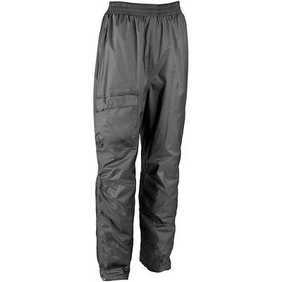 Unisex Motorcycle 100% Waterproof Over Trouser/Rainsuit pant Fully Seamsealed