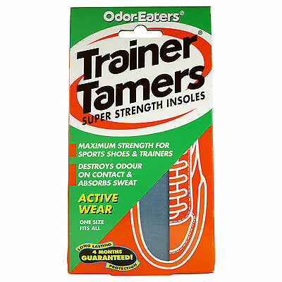 Odor Eaters Trainer Tamers Super Strength 1 Pair