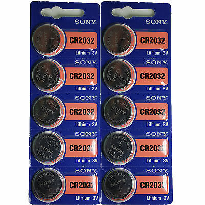FRESHEST SONY CR2032 Lithium Battery 3V Fresh Expire *****2025***** pack 10 pcs