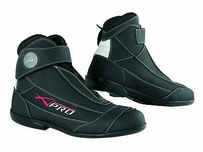 Summer Biker Motorcycle Motorbike Scooter Leather Touring Sport Boot Shoes