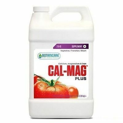 Botanicare Cal-Mag Plus Calcium Magnesium Iron Plant Nutrient 1 Gallon expedited
