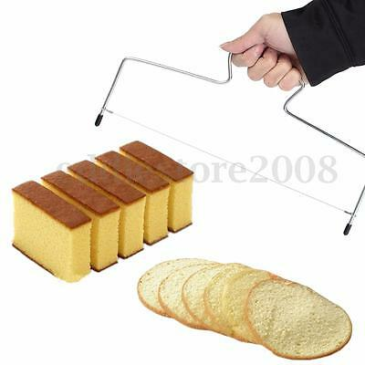 Adjustable Wire Cake Bread Leveler Leveller Cutting Slicer Cutter Decor Tool