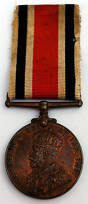 George V Police Special Constabulary Bronze Medal