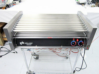 Star 50C Grill-Max 50 Hot Dog Roller Grill With Chrome Rollers Slanted 50C