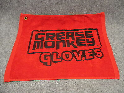 "Grease Monkey Gloves Advertising Cotton Mechanics Shop Towel 17.5"" X 14"" NEW"