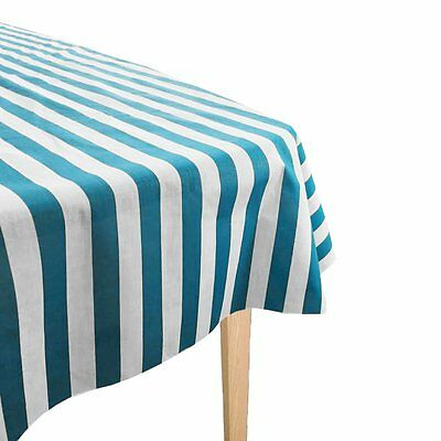 "ArtOFabric 1 Inch Cotton Striped Overly/Tablecloth (58""X58"")"