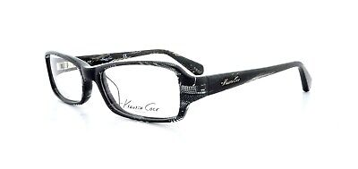 33da2512903 KENNETH COLE KC0191 003 BLACK CRYSTAL New Optical Eyeglass Frame For ...