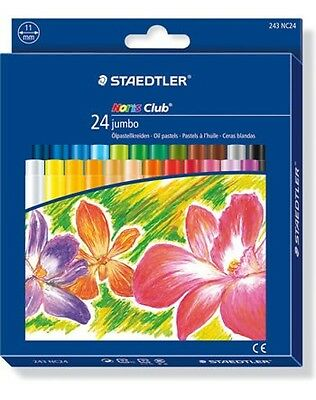 Staedtler Noris Club 24 Jumbo Oil Pastels