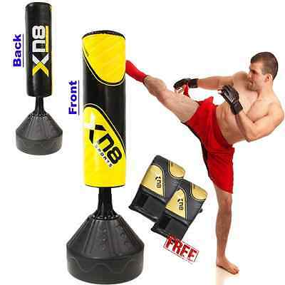 Free Standing Boxing Punch Bag Fitness 6 ft Heavy Duty Kick Thai MMA Training