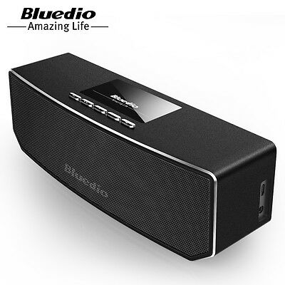 BLUEDIO CS-4 (Camel) Bluetooth 4.1 Speakers Wireless Stereo Subwoofer Heavy Bass